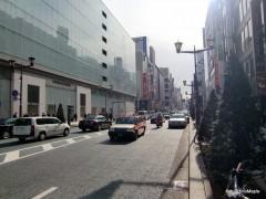 Looking towards Ginza 4-chome from Matsuya Ginza