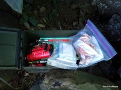 Ammo Box used as a Cache