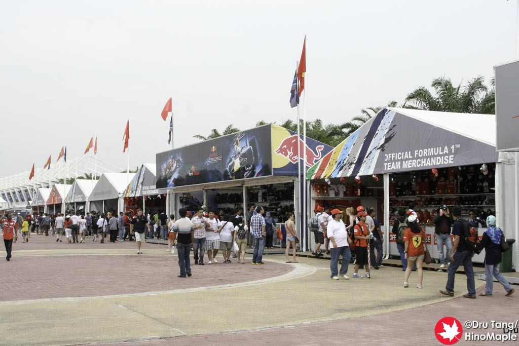 Shopping at the Malaysian Grand Prix