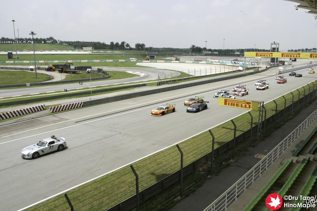 Support Race Under the Safety Car