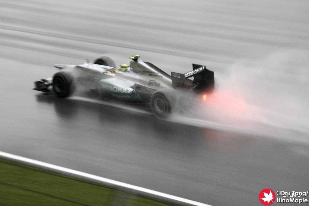 Nico Rosberg Before the Red Flag