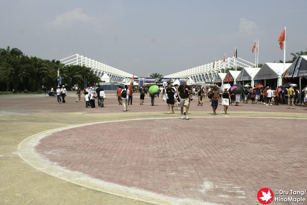 Free Area of Sepang International Circuit