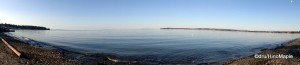 Panorama of Birch Bay (From the Beach)