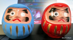 Daruma With the Eyes Painted