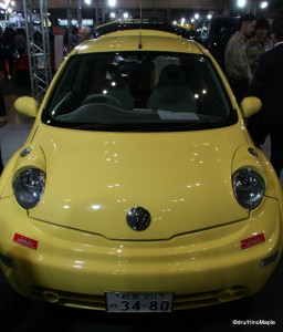 Yellow VW Bug (Pokemon Edition?)