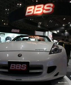 Nissan Z at the BBS Wheels Booth