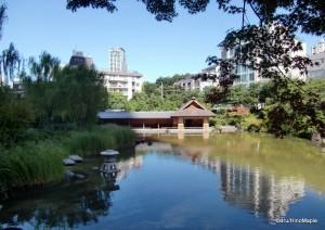 Garden Behind Tokyo Midtown