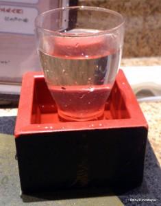 Sake with a Masu