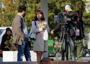 Nishi Nippon TV Crew (At Takamatsu)