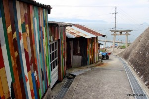 """Project for wall painting in lane, ogijima wallalley"" by Rikuji Makabe"