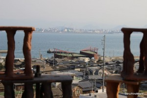 """Terrace Winds"" by Yasuyoshi Sugiura (Looking to Megijima's Port and Takamatsu)"