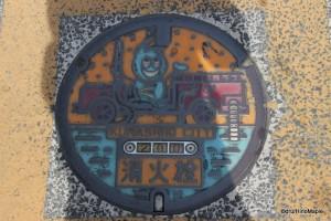 Kurashiki Manhole Cover