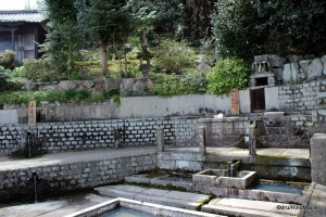 Shrine Fountains (Left is for washing, right is for drinking)