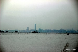 View of Takamatsu from Naoshima