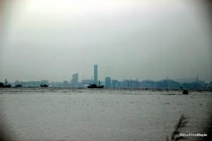 View of Takamatsu from Naoshima