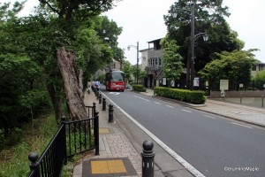 Road from Mitaka Station to the Ghibli Museum