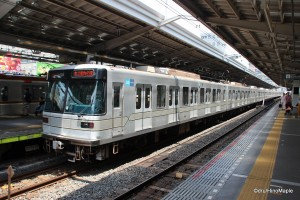 Hibiya Line Train (Naka-Meguro Station)