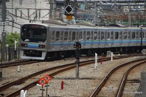 Rinkai Line Train (Osaki Station)