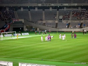 First Half Free Kick for FC Tokyo