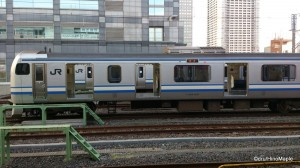 Sobu Rapid Line (Out of Service at Kinshicho Station)