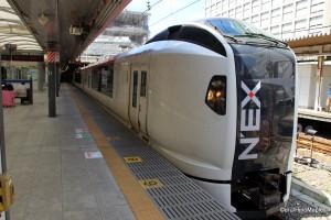 Narita Express (At Shinjuku Station)
