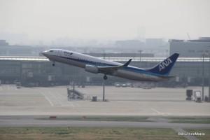 ANA Flight at Haneda Airport