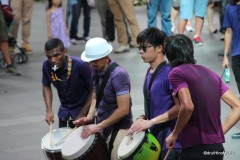 Drum Band in Singapore (Orchard)