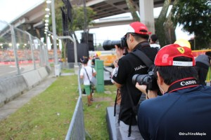 Singapore Grand Prix (Corner 1)