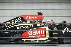 Kimi Raikkonen at Corner 5 (2013 Singapore Grand Prix)