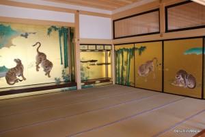 Honmaru Palace Wood Screens