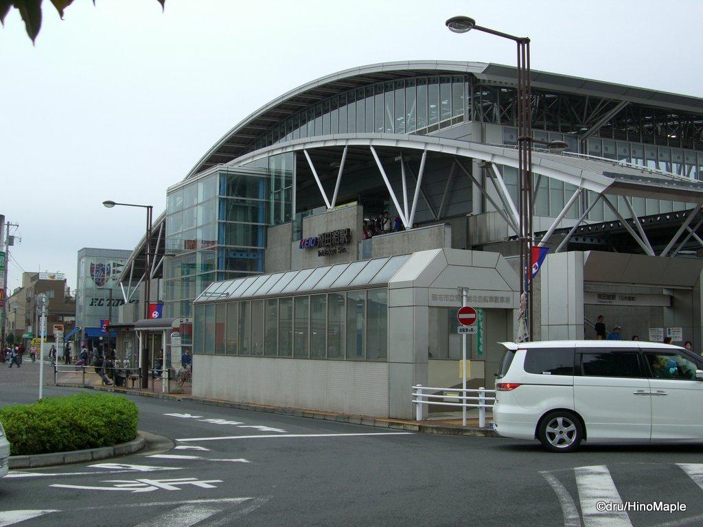 Tobitakyu Station, near Ajinomoto Stadium