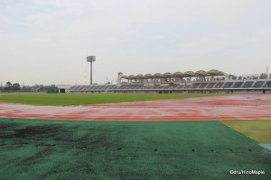Yumenoshima (Dream Island) Stadium