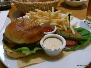 T.Y. Harbor Burger
