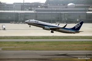 Haneda Airport - ANA Taking Off