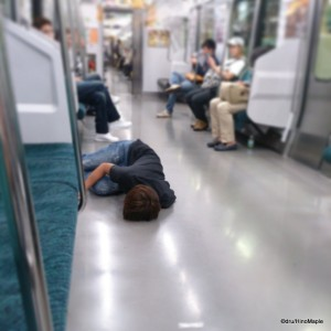 Partying too Hard on the Yamanote Line