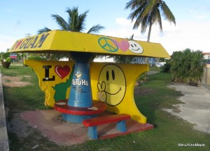 Bus Shelter on the way to Micronesia Mall