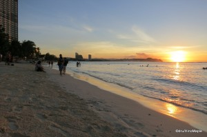 Tumon Bay Beach (Sunset)