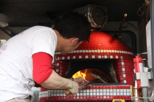 Pizza Truck at Masumi