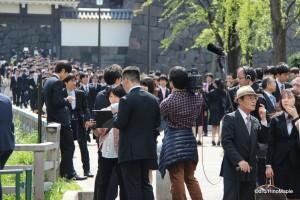 Tokyo University Entrance Ceremony