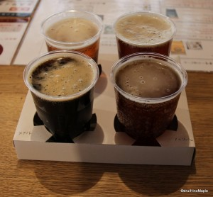 Isekadoya Beer Sampler
