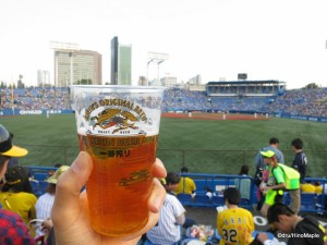 Kirin Beer at Jingu Stadium