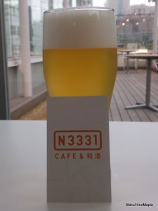 N3331 Cafe with Hakkaisan Beer