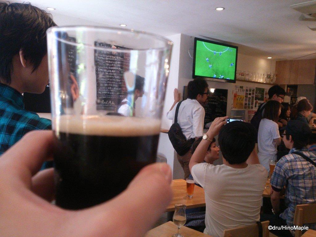 Minoh Stout @ Raku Beer