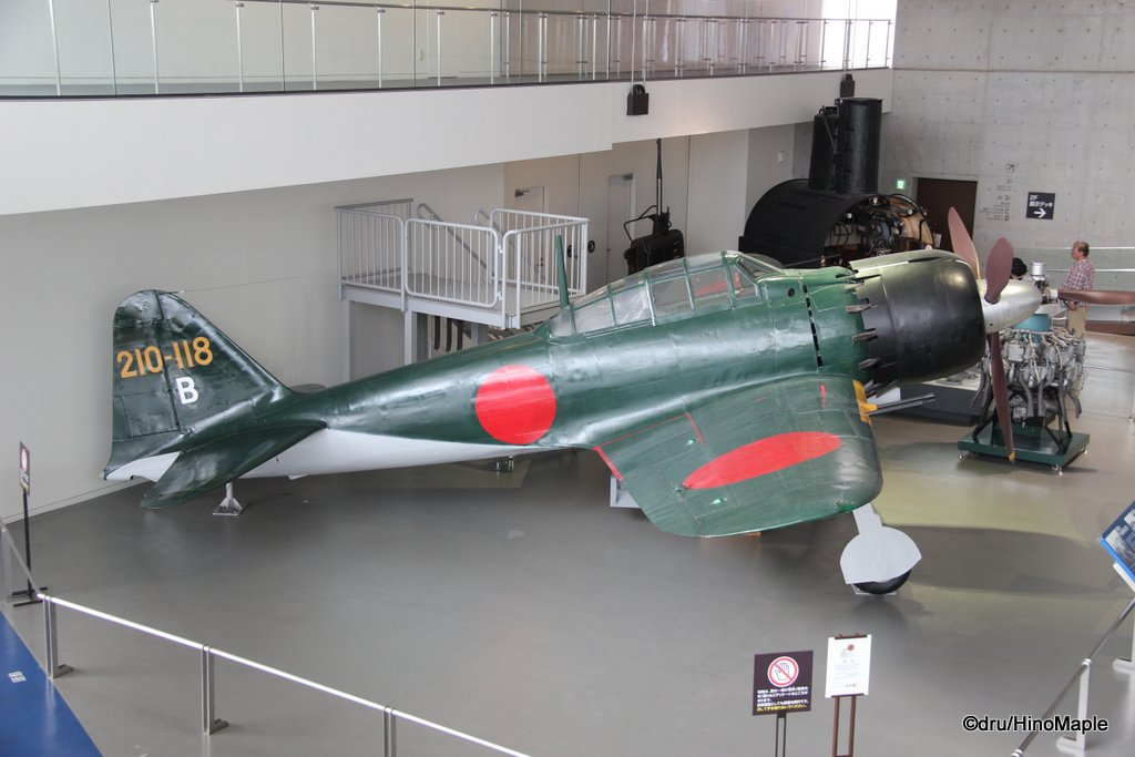 Zero Fighter at the Yamato Museum
