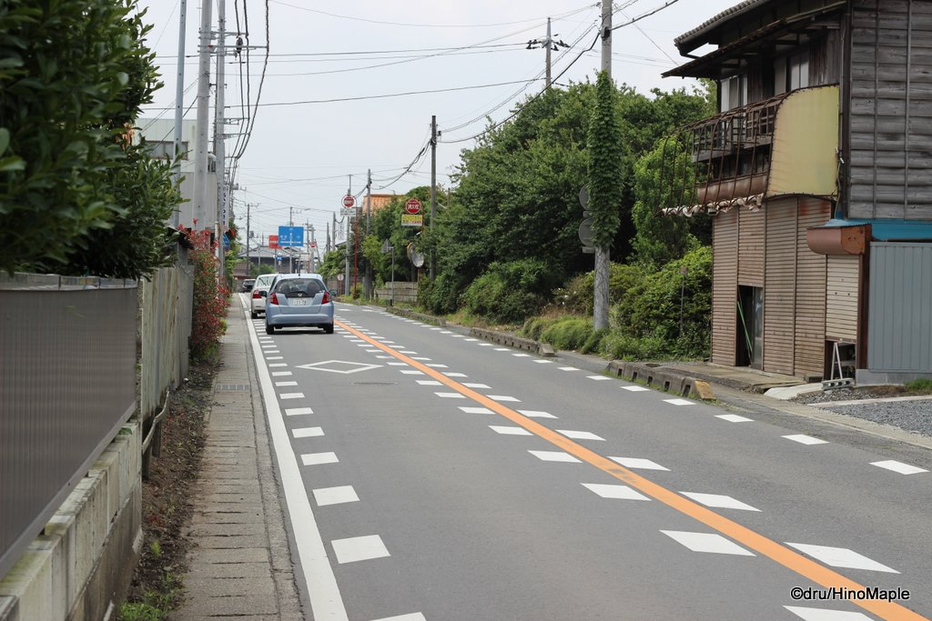 Road to Kiuchi Brewery
