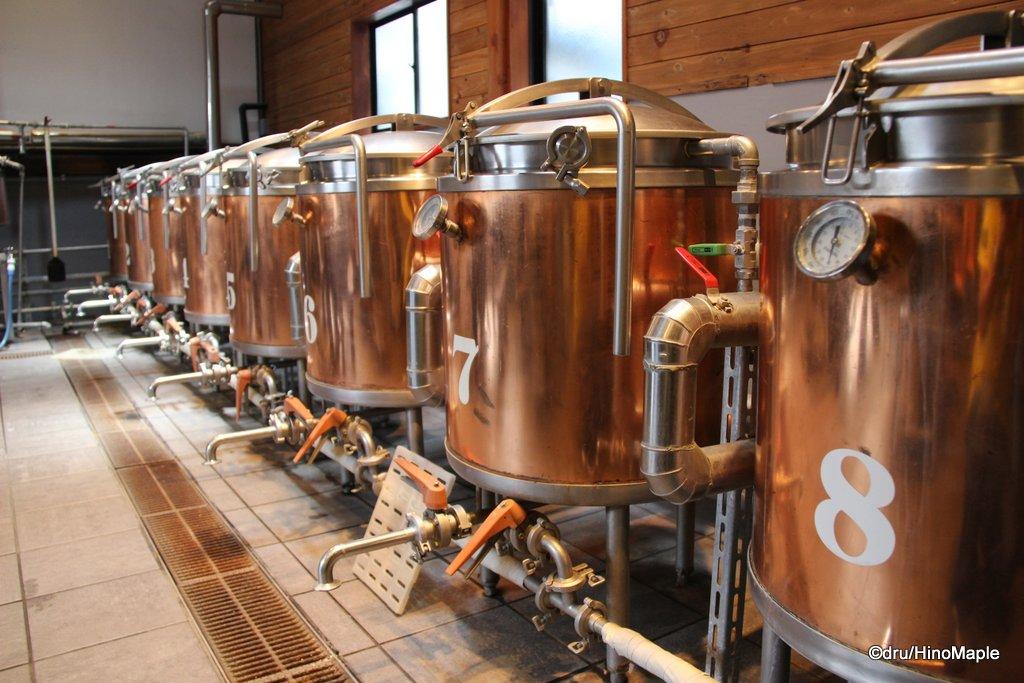 Hitachino Nest Brew on Premises Kettles