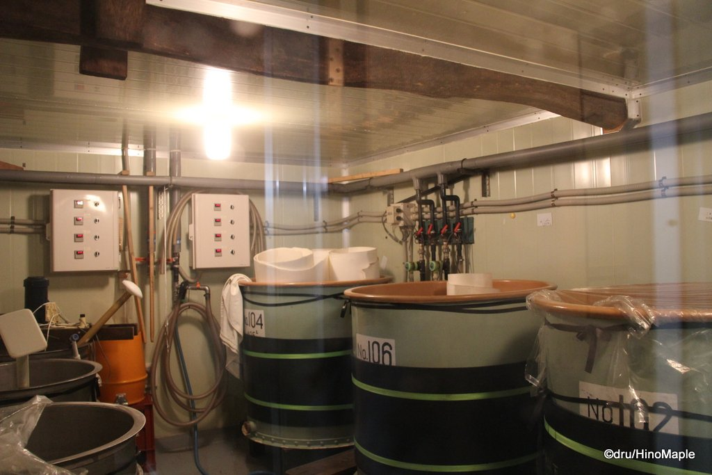 Kiuchi Brewery Maturation Room (Daiginjo)