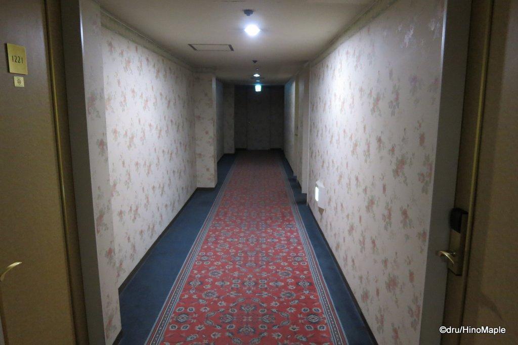 Hiroshima Intelligent Hotel Annex Hallway