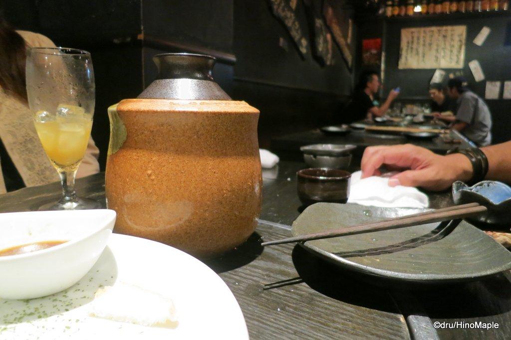 Izakaya in Hiroshima