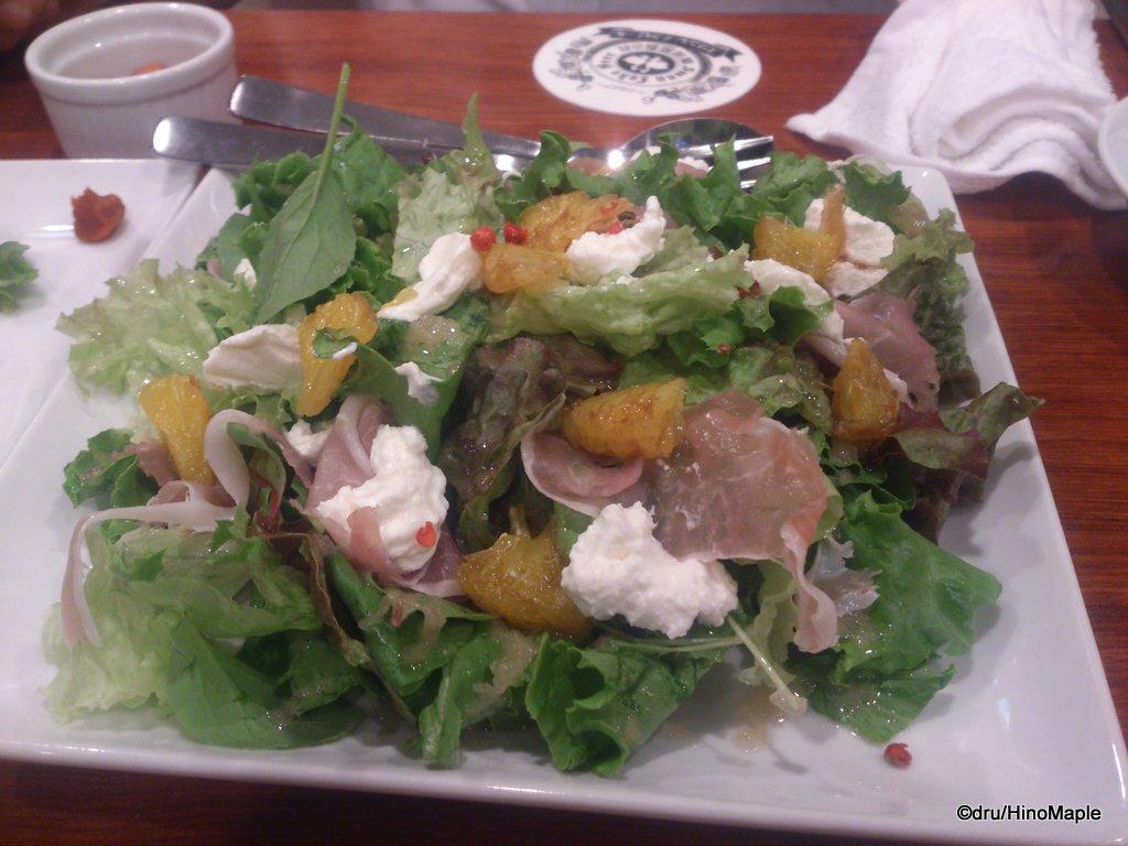 Swanlake Pub Edo (Prosciutto Salad)